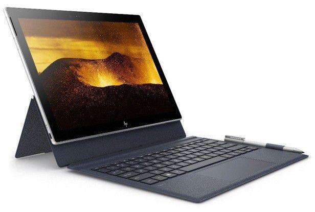 P Inc. setzt beim Envy X2 auf ein modulares Bedienkonzept. Zusammengesteckt ist das Device klassisch als Notebook zu verwenden. Im Tablet-Modus lässt sich das Display abnehmen.
