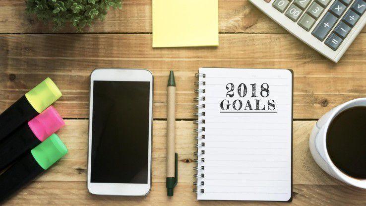 Vorsätze für 2018 gefasst? Bleiben Sie dran und setzen sie um!