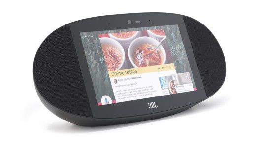Dank Spritzwasserschutz soll sich JBL Link View auch für die Küche eignen.