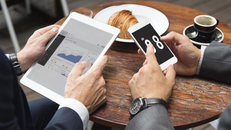 Nur wenn geschäftliche Daten auf Smartphones und Tablets ausreichend geschützt sind, profitieren Firmen von den Vorteilen des mobilen Arbeitens.