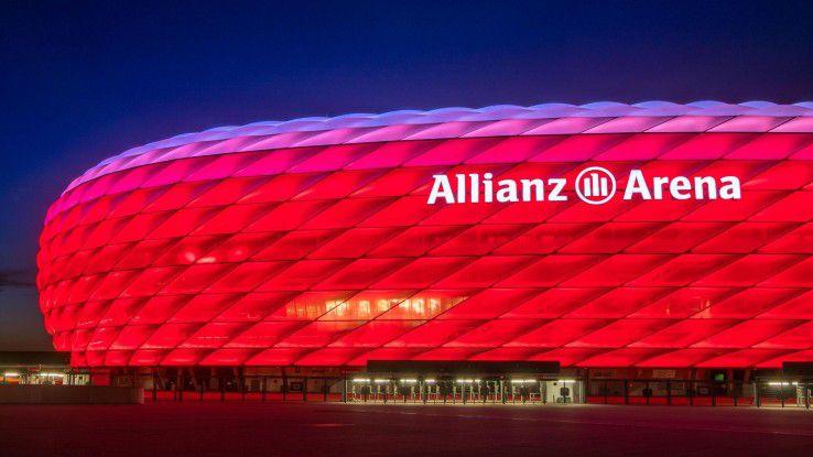 Mit MindSphere und IoT soll der Rasen in der Münchner Allianz Arena künftig besser bespielbar sein.
