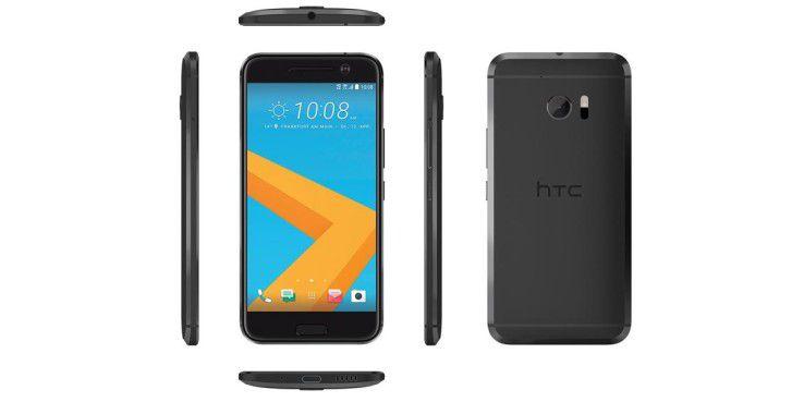 Das Gehäuse des HTC 10 besteht aus schickem Aluminium.