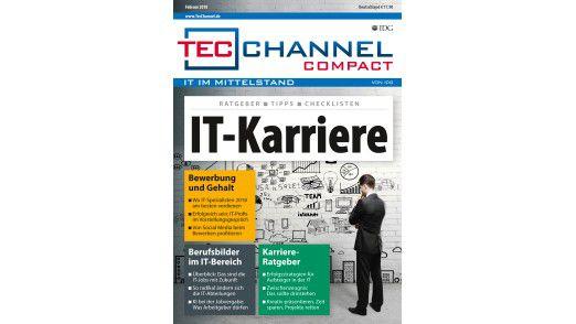 Auf 160 Seiten finden Sie im neuen TecChannel Compact Ratgeber und Praxis rund um das Thema: Kariere in der IT..