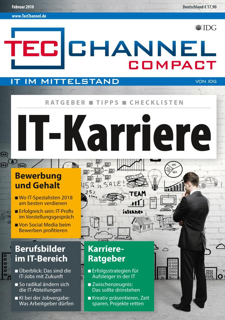 TecChannel Compact 02_2018 IT-Karriere