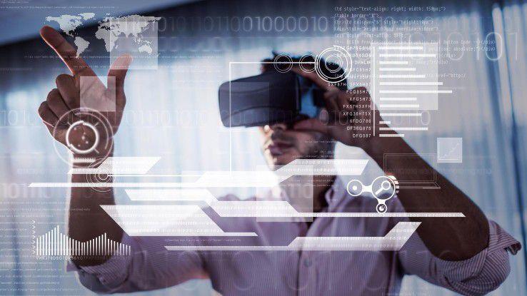 Aus Sicht von Analysten besitzen Augmented Reality und Virtual Reality (Bild) auch im Business enormes Potenzial.