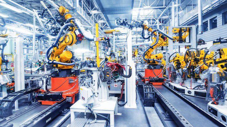 Predictive Maintenance sorgt für weniger Maschinenausfälle und steigert so die Effizienz in den Produktionshallen.