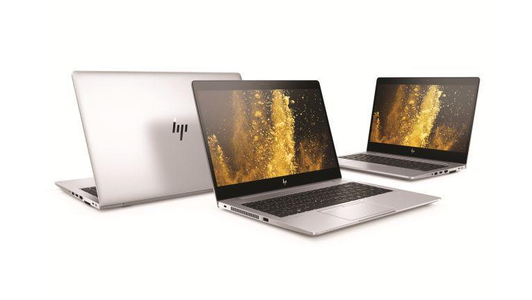 Die drei neuen Rechner ais der HP EliteBook 800 Serie - 830 G5, 840 G5 und 850 G5 - unterscheiden sich in erster Linie durch die Display-Größe.