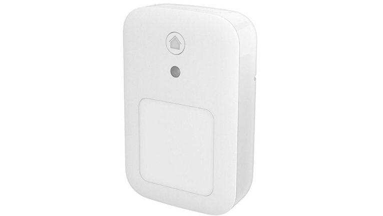 Bewegungsmelder aus dem Smart-Home-Portfolio der Telekom.