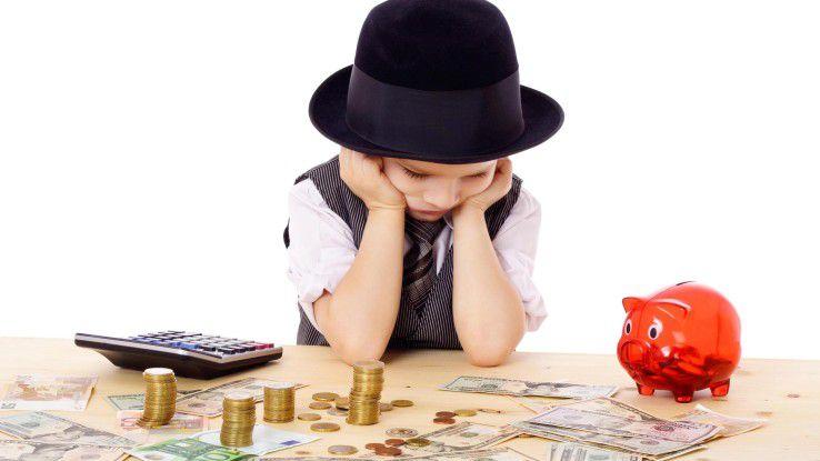 Auch mit kleinem Budget lässt sich oft viel erreichen.