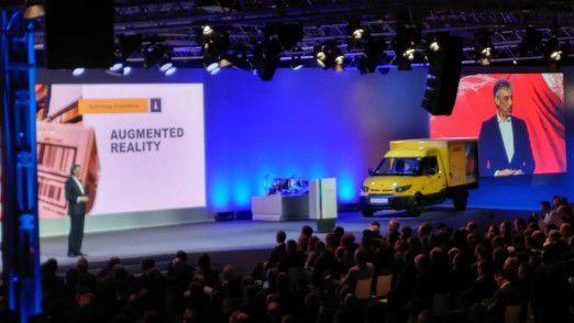 DHL-Chef Appel will mit Augumented Reality die Produktivität um 15 Prozent steigern.