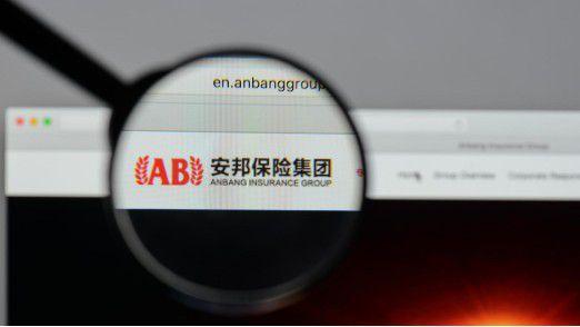 Chinas Behörden greifen beim angeschlagenen Versicherungsriesen Anbang durch.