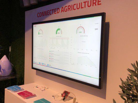 """Sierra Wireless und Bosch Software Innovations wollen mit """"Connected Agriculture"""" die Ernteerträge in Treibhäusern verbessern."""