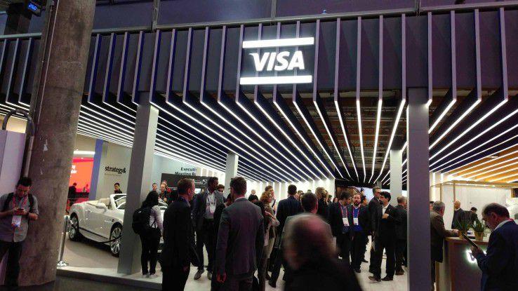 Visa verkündete auf dem Mobile World Congress eine Partnerschaft mit der Allianz in Sachen Mobile Payment.