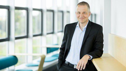"""Volker Maiborn, Geschäftsführer von MaibornWolff: """"Ein Great-Place-to-Work zu bleiben ist wie Rad fahren: Bleibt man stehen, fällt man um."""""""
