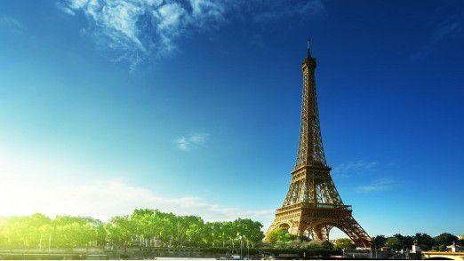 Die Franzosen durften sich im Februar über schwächer steigende Verbraucherpreise freuen.