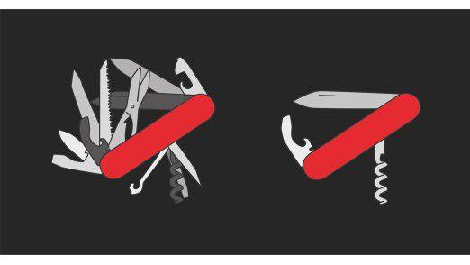 Sammlermesser vs. Bartender-Knife