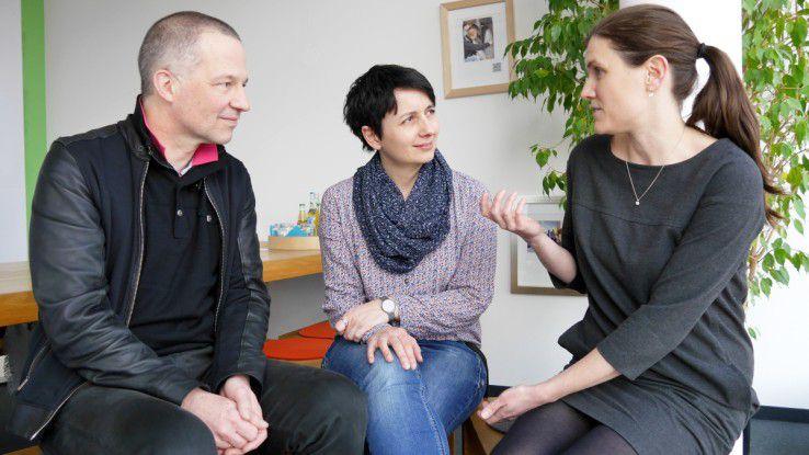 Attraktive Arbeitgeber müssen sich an den Arbeitsinhalten messen lassen, darin sind sich Volker Maiborn, Martina Maier-Krapf und Stephanie Harrer von MaibornWolff einig.