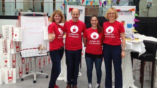 Stand K108: Das Team des Karriereressorts freut sich auf Sie bei der diesjährigen women&work in Frankfurt.