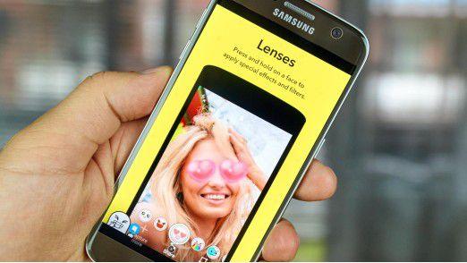 Snapchats Fotoapp ist das nächste Ziel der Blackberry Patentanwälte.