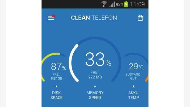 Für mehr Speicherplatz: Die besten kostenlosen Cleaner-Apps
