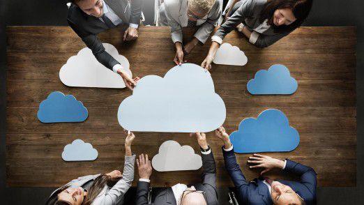 Die meisten Studienteilnehmer sind mit ihren Cloud-Migrationsprojekten zufrieden.