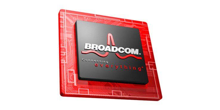 Broadcom stellt eine breite Palette an elektronischen Bausteinen her, darunter auch für WLAN oder Bluetooth.