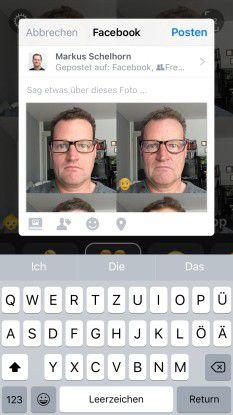 Mit FaceApp kann man beeindruckende Gesichts-Simulationen erstellen und auf Instagram oder Facebook teilen, sowie als Bild exportieren.