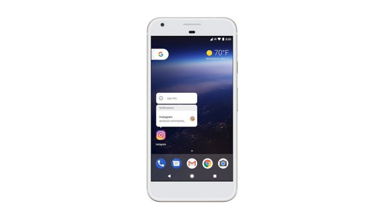 Ein neues Feature in Android O ist Notification Dots