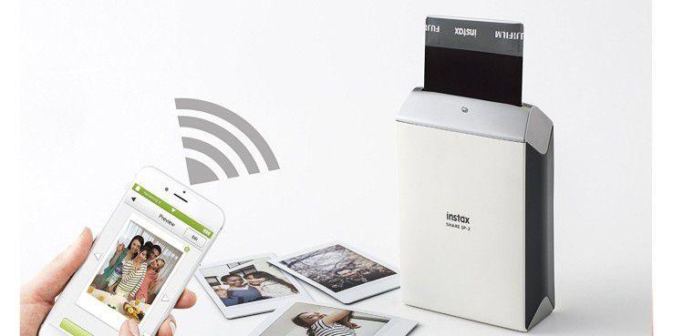 Der Fujifilm Instax Share SP-2 nutzt ein Polaroid-ähnliches Verfahren.