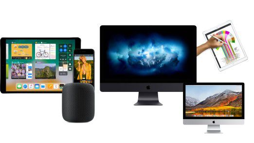 In der Keynote zur WWDC 2017 wurden neben Software-Neuerungen auch etliche Devices vorgestellt.