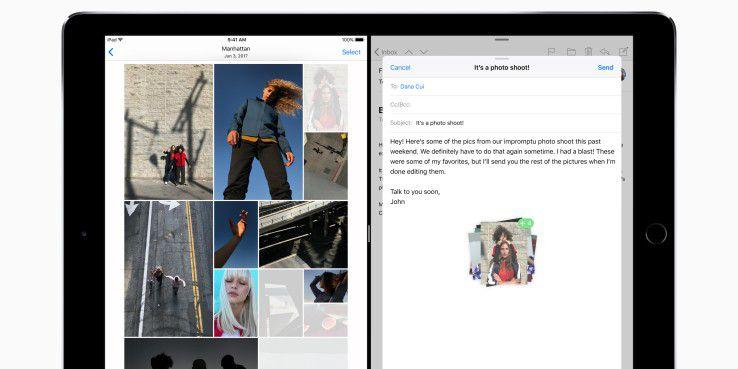 Das iPad erhält endlich Drag and Drop sowie flexiblere App-Fenster.