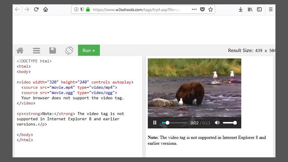 Firefox Quantum Browser: Automatischen Start von HTML5