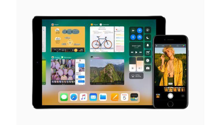 iOS 11 auf dem iPad