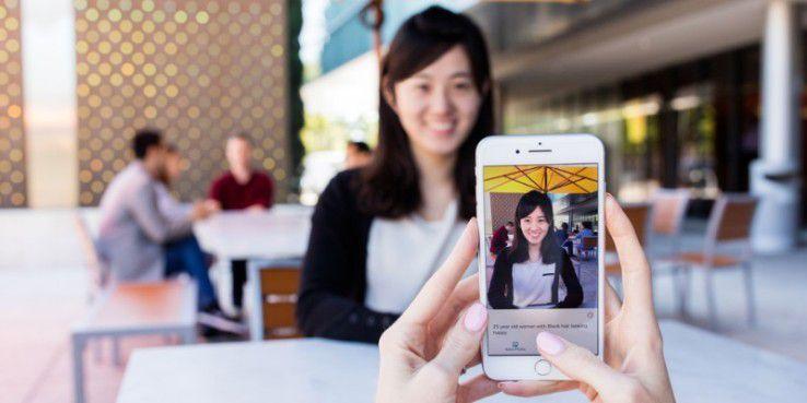 Seeing AI von Microsoft erkennt auch Emotionen von Personen