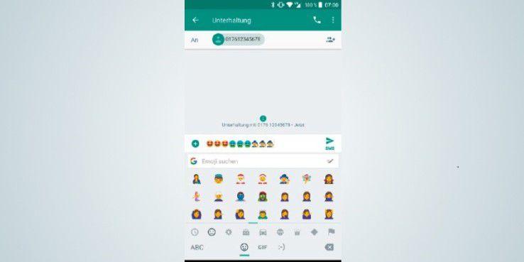Google hat das Aussehen der Emojis angepasst und diese deutlich runder gemacht.