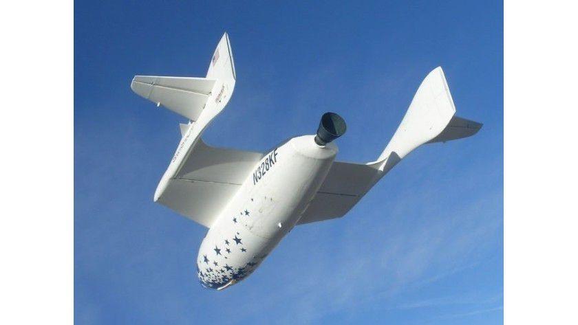 Wieder startklar: Das SpaceShip One soll bald wieder zu einem Flug aufbrechen können. Quelle: Scaled