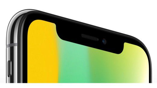 Das iPhone X besitzt zur Gesichtserkennung FaceID ein spezielles Kamerasystem (TrueDepth).