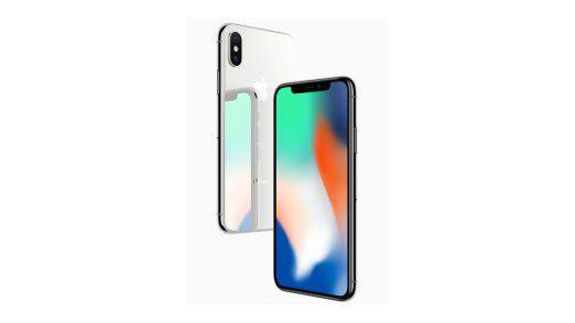 """Apple äußert sich über die Fehlerwahrscheinlichkeit des Systems """"Face ID"""" beim iPhone X."""