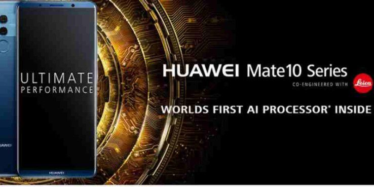 Huawei Mate 10 Series offiziell vorgestellt