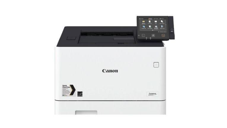 Farblaserdrucker mit Touchscreen für Arbeitsgruppen: Canon i-Sensys LBP654Cx