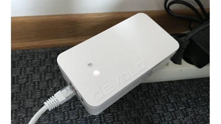 Devolo Home Control Zentrale: Die Zentrale verbindet die einzelnen Komponenten miteinander und öffnet ihnen das Tor zum Internet.