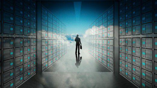 """Daten in der Cloud. """"Wissen Sie, wo Ihre Daten gespeichert sind?"""""""