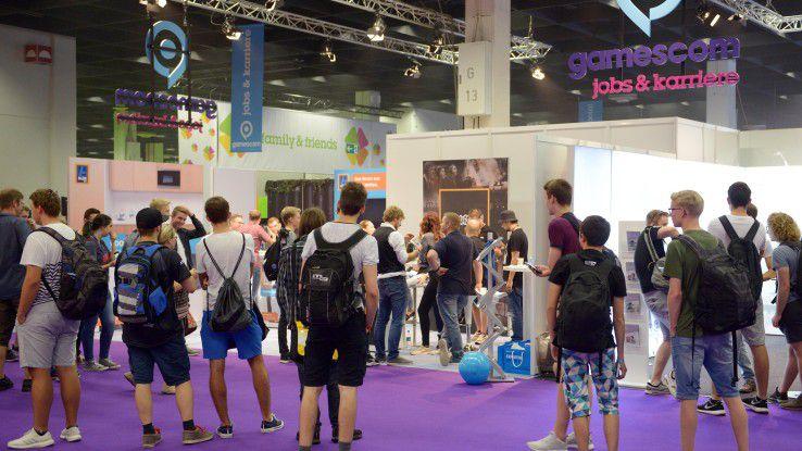 Auf der Gamescom bietet sich Unternehmen die Gelegenheit, vor allem die jüngere Zielgruppe direkt anzusprechen.