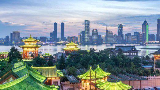 """Shenzhen - """"das Wunder vom Perlflussdelta"""" wie einheimische Medien die Stadt bezeichnen - gilt als das chinesische Silicon Valley. Hier sitzen große IT-Konzerne wie Huawei oder ZTE."""