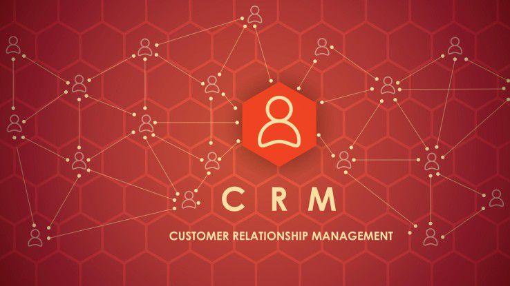 Ein Customer-Relationship-Management-System sollte weitflächig vernetzt sein.