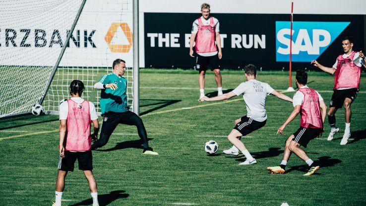 Damit die deutschen Kicker nicht nur im Training sondern auch im WM-Match treffen, dafür sollen auch die Analytics-Tools von SAP sorgen.