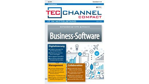 160 Seiten Grundlagen, Ratgeber und Praxis im neuen TecChannel Compact.