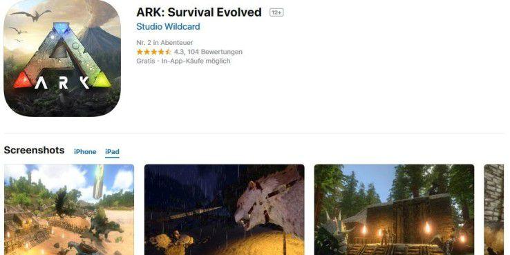 Jetzt auch für iPads: Ark - Survival Evolved