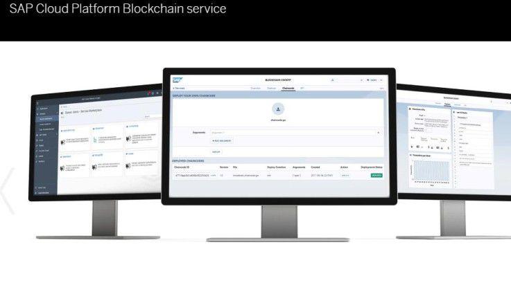 SAP bietet mit Cloud Platform Blockchain die Blockchain-Technologie als Dienst in seiner Cloud-Plattform an.