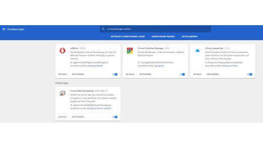 Für Google Chrome stehen jede Menge Funktionserweiterungen in Form von Plugins zur Verfügung.